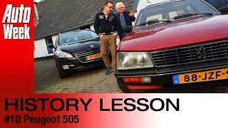 Geschiedenisles - Peugeot 505
