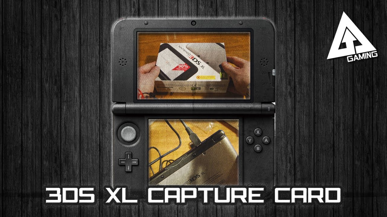nintendo 3ds capture card setup tutorial unboxing 3ds xl youtube. Black Bedroom Furniture Sets. Home Design Ideas