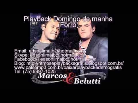 Playback Marcos e Belutti Domingo de Manhã Forro