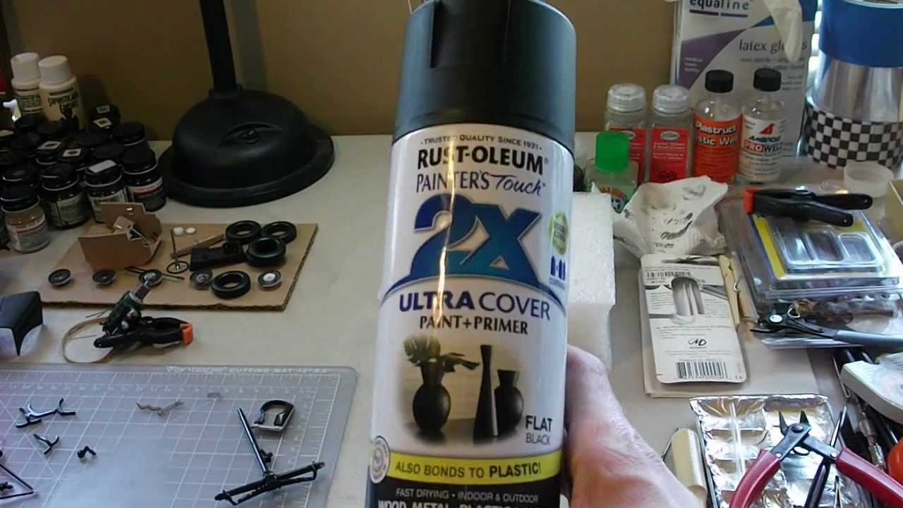 rustoleum 2x ultra cover paint primer results styrene plastic. Black Bedroom Furniture Sets. Home Design Ideas