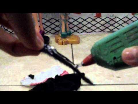 Como modificaar ropa vieja de barbie para tus EAH♥
