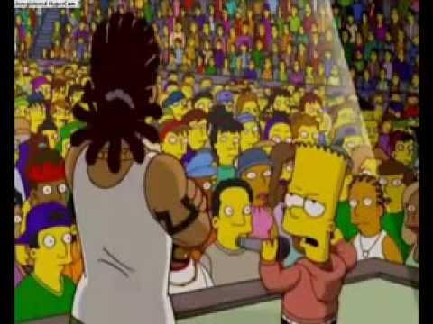 ▶ Bart Cantando eu so quero é ser feliz