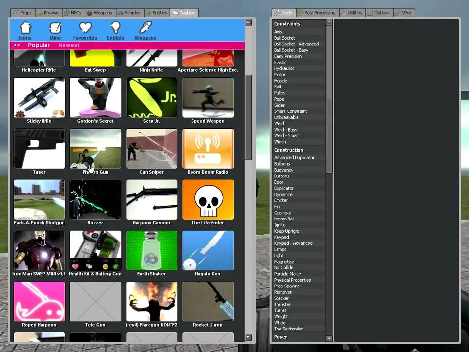 Скачать Garrys Mod 10 01 2011