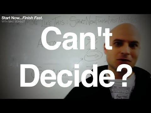 The worst (and best) way of making a decision