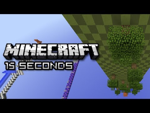 Hình ảnh trong video Minecraft: SUPER SPEED PARKOUR (Sethbling 15