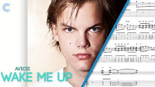 Violin Wake Me Up Avicii Sheet Music, Chords, And Vocals