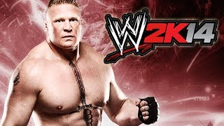 WWE 2K14 DEFEAT THE STREAK EPISODE 7 BROCK LESNAR