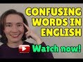 LIVE CLASS Confusing Words in English