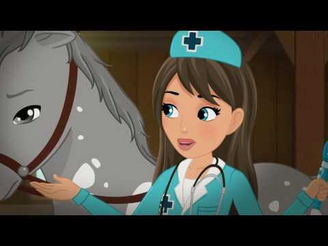 LEGO Friends – sezóna 3, ep. 16 Ako vyliečiť koňa