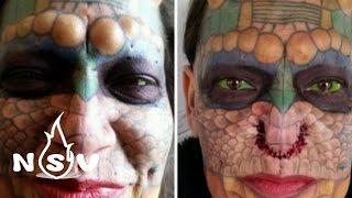 Người phụ nữ cắt bỏ mũi và tai để hóa thân thành Rồng