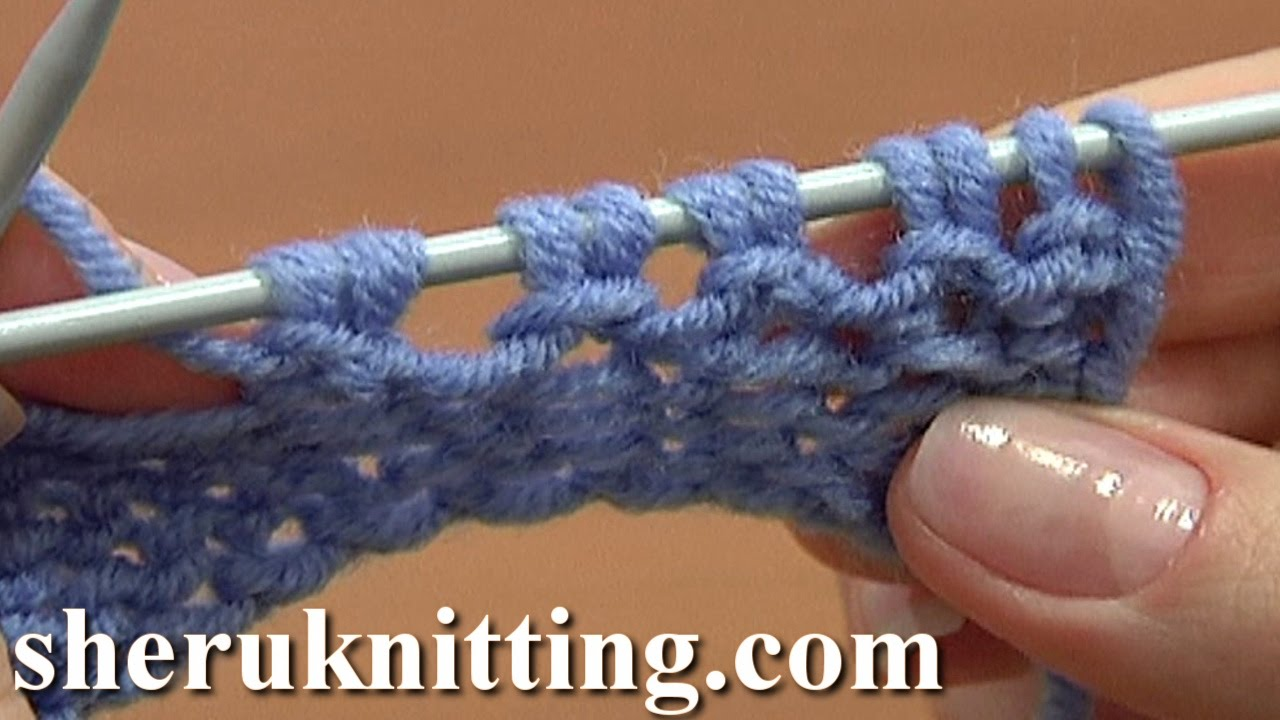 Knitting Increase Stitch At Beginning Of Row : Increase Stitches Purl Stitch On Row Below Tutorial 8 Method 5 of 14 Increase...