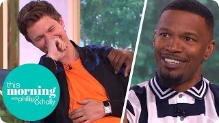 Jamie Foxx Has Has Everyone in Stitches Talking About 'Baby Driver' | This Morning