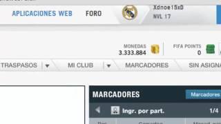 Fifa 14 Hack Monedas Gratis Y Rapido!! Ultimate Team XBOX