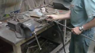 Making A Wrought Iron Oak Tree