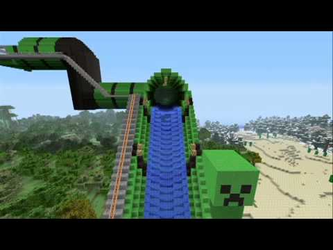 Build A Round Tunnel In Minecraft
