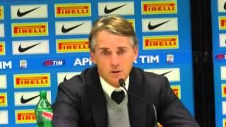 Inter, Mancini: 'Kovacic può diventare un fuoriclasse. Lennon? No. Cerci? Ci proveremo, ma è dura'