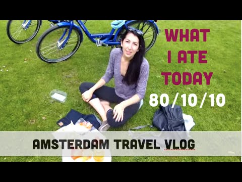 What I Ate Today in Amsterdam--RAW VEGAN