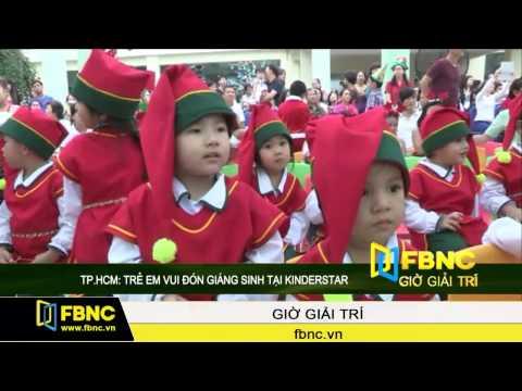 TP.HCM: Trẻ em vui đón giáng sinh tại Kinderstar