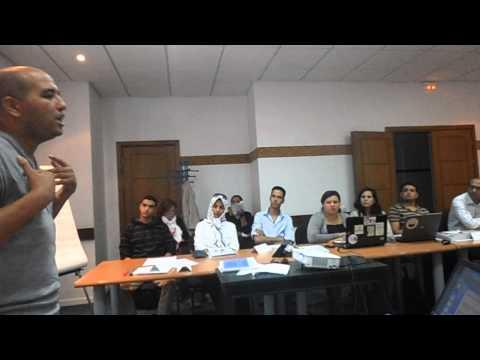 ورشة التحرير الصحفي في الدورة التكوينية حول الإعلام الجمعوي بأكادير