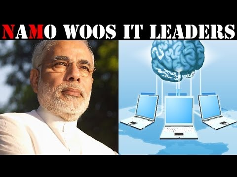 Narendra Modi addresses IT leaders through tele-con