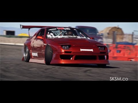 Hoonin' With Hertrech | V8 RX7 Drift | SKSM.CO | HOONIGAN