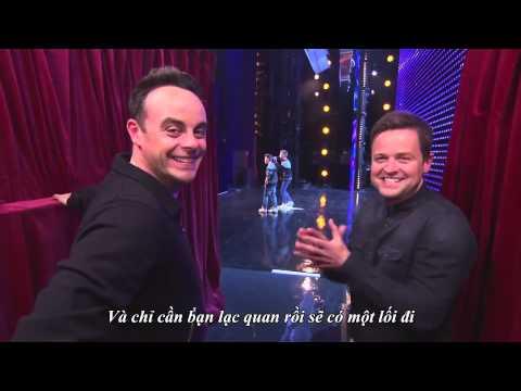 Bản dịch Tiếng Việt Bars and Melody Britain's Got Talent 2014