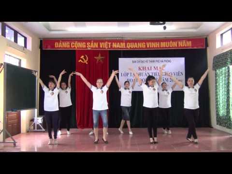 Tập huấn hè 2014 múa tập thể thiếu nhi