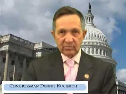 Congressman Dennis Kucinich Talks 2U 99% : )