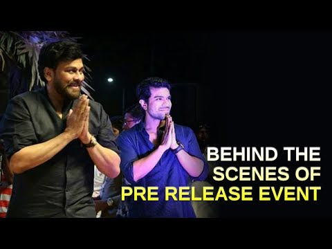 Behind The Scenes of Rangasthalam Pre release Event