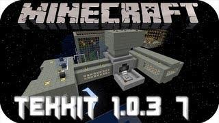 Minecraft Tekkit - Cap. 7 - La casa en el árbol progresa
