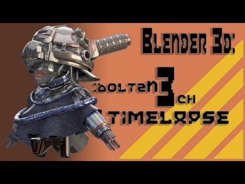 Hình ảnh trong video Blender 3d: Boltzn3ch: Speed Hardsurface Model