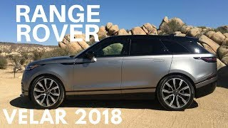 Test Drive Range Rover Velar 2018 en Palm Springs, California