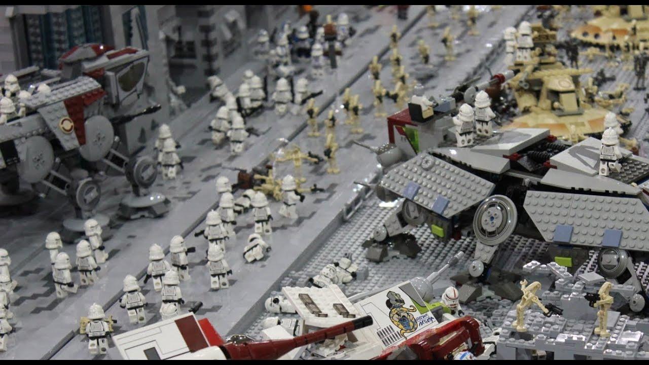 Lego clone wars base battle of coruscant youtube - Croiseur interstellaire star wars lego ...