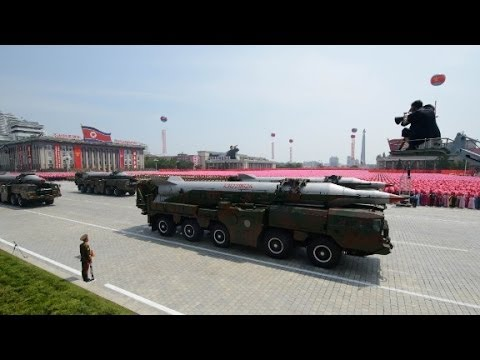 North Korea tests 'cutting-edge missiles'