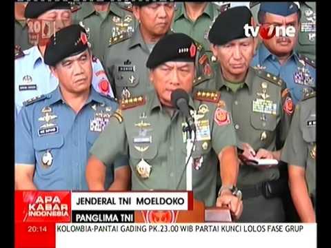 Panglima TNI Jenderal Moeldoko Bantah Pernyataan Wiranto Tentang Surat DKP