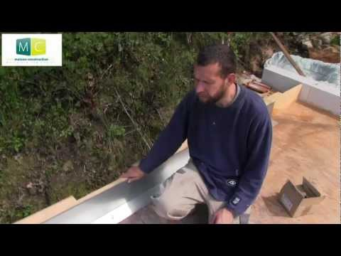 Toiture plate étanchéité, Waterproofing flat roof