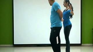 Aprende a bailar salsa. Vuelta 360