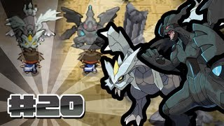 Pokemon Black Version 2 Episode 20 [Zekrom And Kyurem