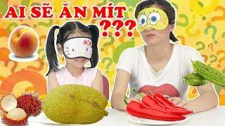 Fruit Challenge 🤣 Thử Thách Trái Cây ai sẽ ăn mít, ai sẽ ăn ớt ??? Dâu Tây Channel