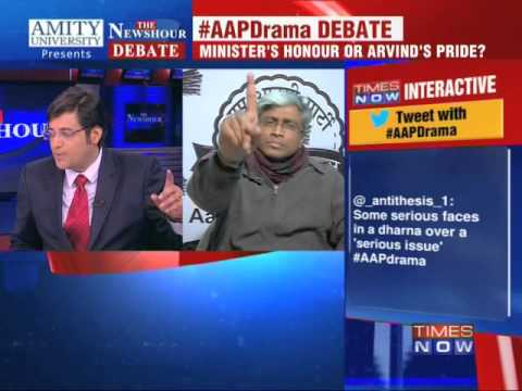The Newshour Debate: AAP going too far? - Full Debate (20th Jan 2014)