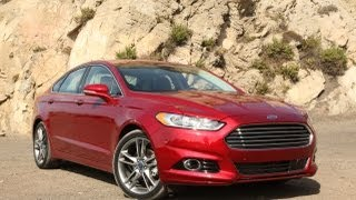 2013 Ford Fusion Review - Because sexy sells videos
