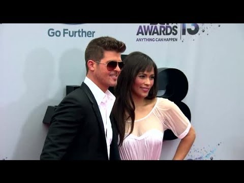 Robin Thicke & Paula Patton Announce They're Separating