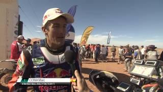 Résumé de l'étape 6 - Rallye OiLibya du Maroc 2013 (Français)