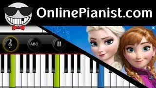 Frozen Let It Go (Idina Menzel Version) Piano Tutorial