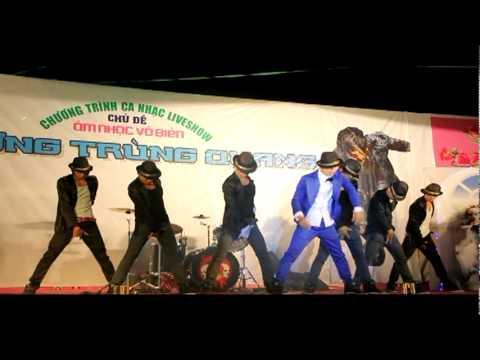 Nhom nhay DK - Vu Dieu DK. ( Live Show Am Nhac Vo Bien )