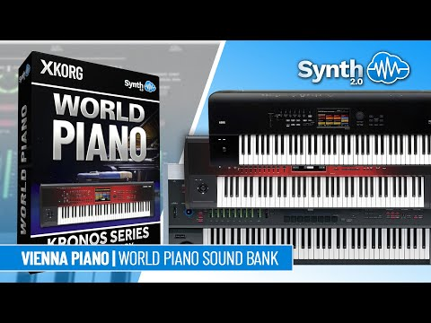 SSX-004 Piano Collection G-Piano - Korg Oasys / Kronos / X / 2 ( Synthcloud )