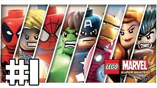 Lego Marvel Super Heroes Playthrough #1 [FR][HD]