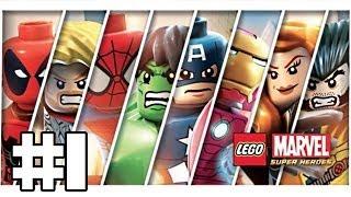 Lego Marvel Super Heroes Playthrough #1 [FR][HD]
