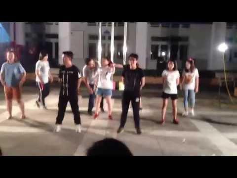 Đội 2 BB - Nối vòng tay lớn, dance Dân vũ-Hai cô tiên-Shake the rhythm