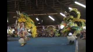 Men's Fancy Dance Finals @ The Tsuu T'ina Pow Wow 2012 Day 3